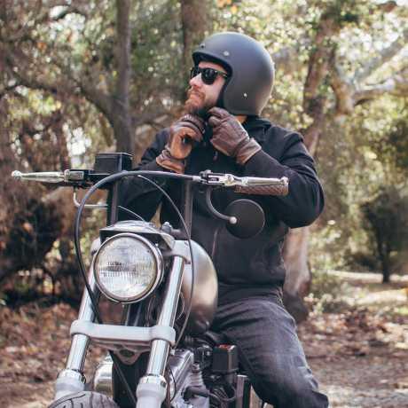 Biltwell Biltwell Bonanza Helm, schwarz matt  - 942625V