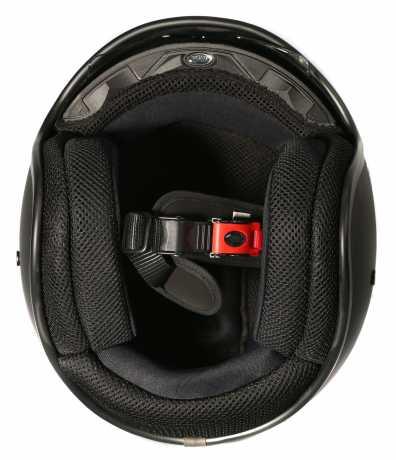 Premier Helmets Premier Vintage Jethelm CK 9 BM black & race flag XL - PR9VIN44-XL