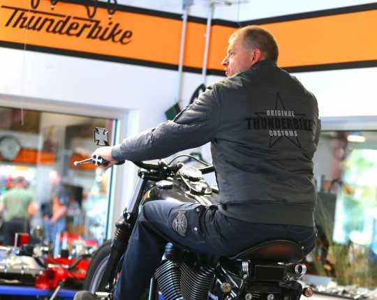 Thunderbike Clothing Thunderbike Street Bomber Jacket, grey  - 19-60-070V