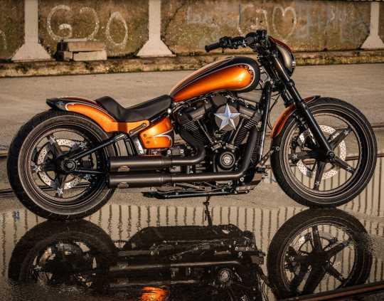 Thunderbike Headlamp Cap Alu raw  - 42-74-070