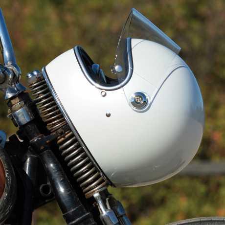 Biltwell Biltwell Gringo S Helmet Metallic Pearl White M - 578183