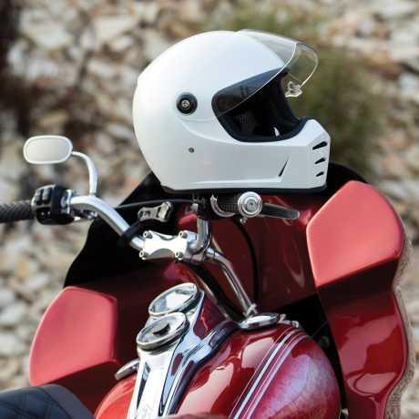 Biltwell Biltwell Lane Splitter Helmet Metallic Pearl White  - 578217V