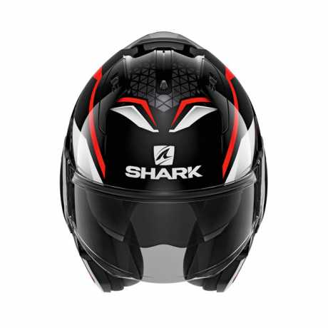 Shark Helmets Shark Evo-Es Yari Modular Helm schwarz/rot/weiß  - 586466V