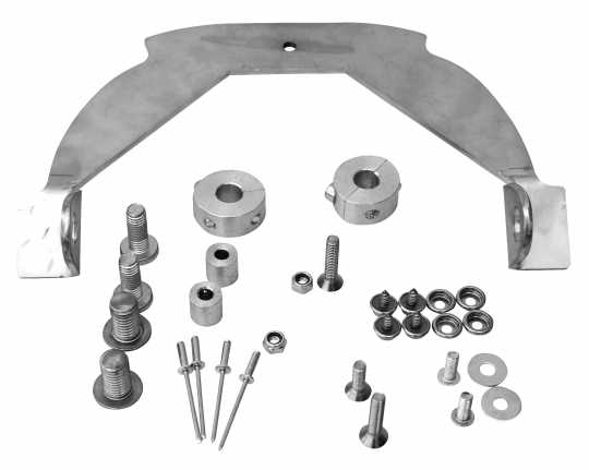 Thunderbike Rear Fender Kit Café Racer  - 72-76-020