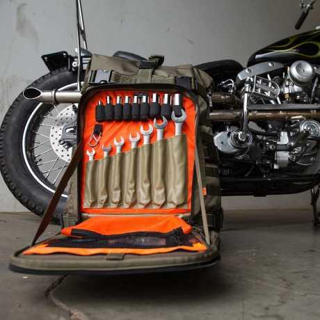 Biltwell Biltwell EXFIL-80 Bag, OD Green  - 565028