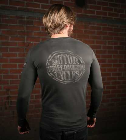 H-D Motorclothes Harley-Davidson Longsleeve Discharge Print  - 99141-19VM