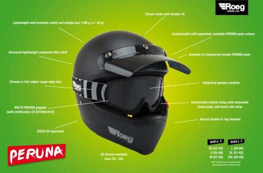 Roeg Roeg Peruna Helmet ECE Fog white  - 569077V
