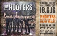 Concert ticket  Jokerfest 2016 with The Hooters