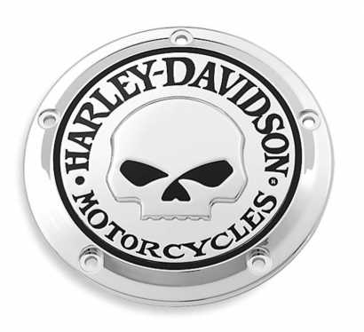 Flame Inspection Cover Chrome fits Harley-Davidson