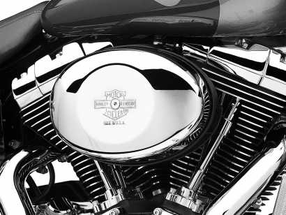 HARLEY-DAVIDSON Motorrad Achsabdeckung Hinten Schwarz Schriftzug 43000178