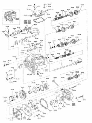 Harley Davidson Transmission Diagram - Machine Repair Manual on
