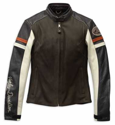 98009 20EW Harley Davidson women´s Leather Jacket Sidari at
