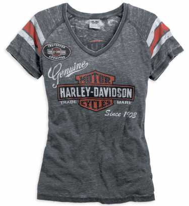 8ff0a9216003be Harley-Davidson Damen T-Shirts & Tops im Thunderbike Shop
