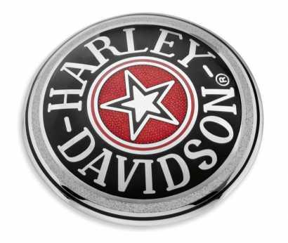 Harley Shovelhead Evolution Sportster Zündungsdeckel mit Revtech 100 Logo