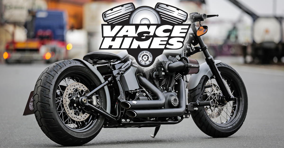 Vance & Hines Exhausts at Thunderbike H-D Shop
