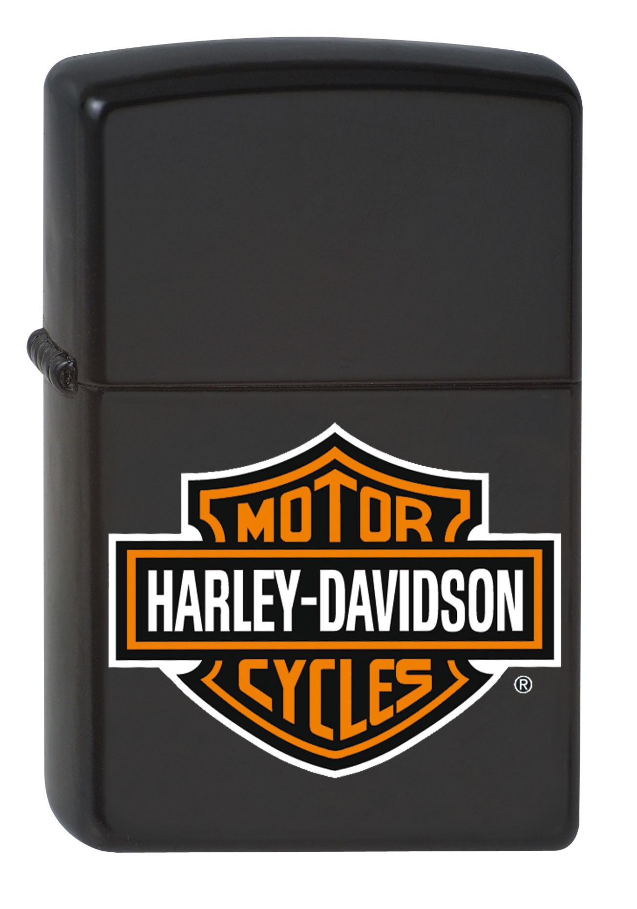zippo harley davidson feuerzeug bar shield klassisch. Black Bedroom Furniture Sets. Home Design Ideas