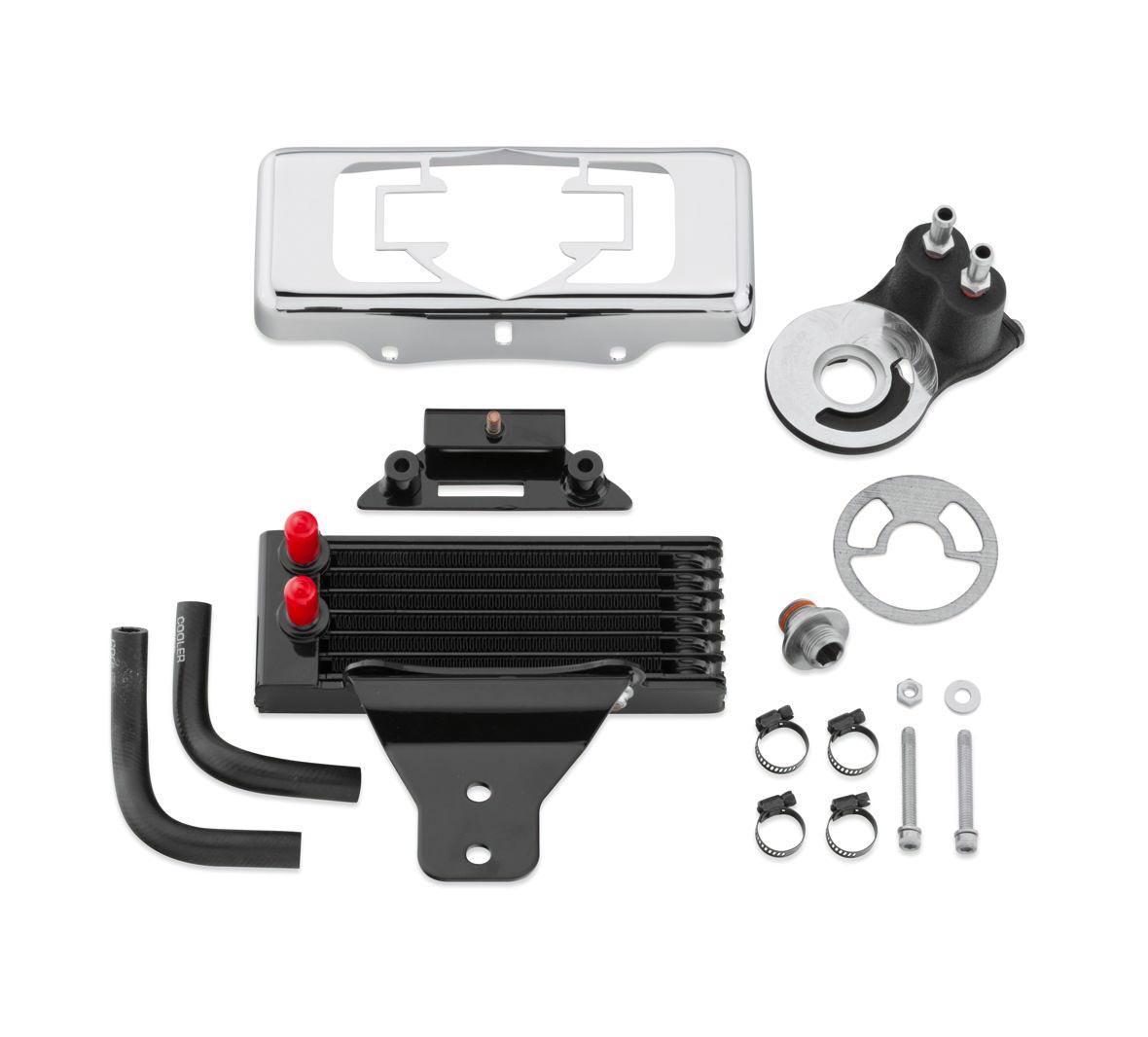 Harley Engine Cooler : B premium oil cooler kit dyna models horizontal