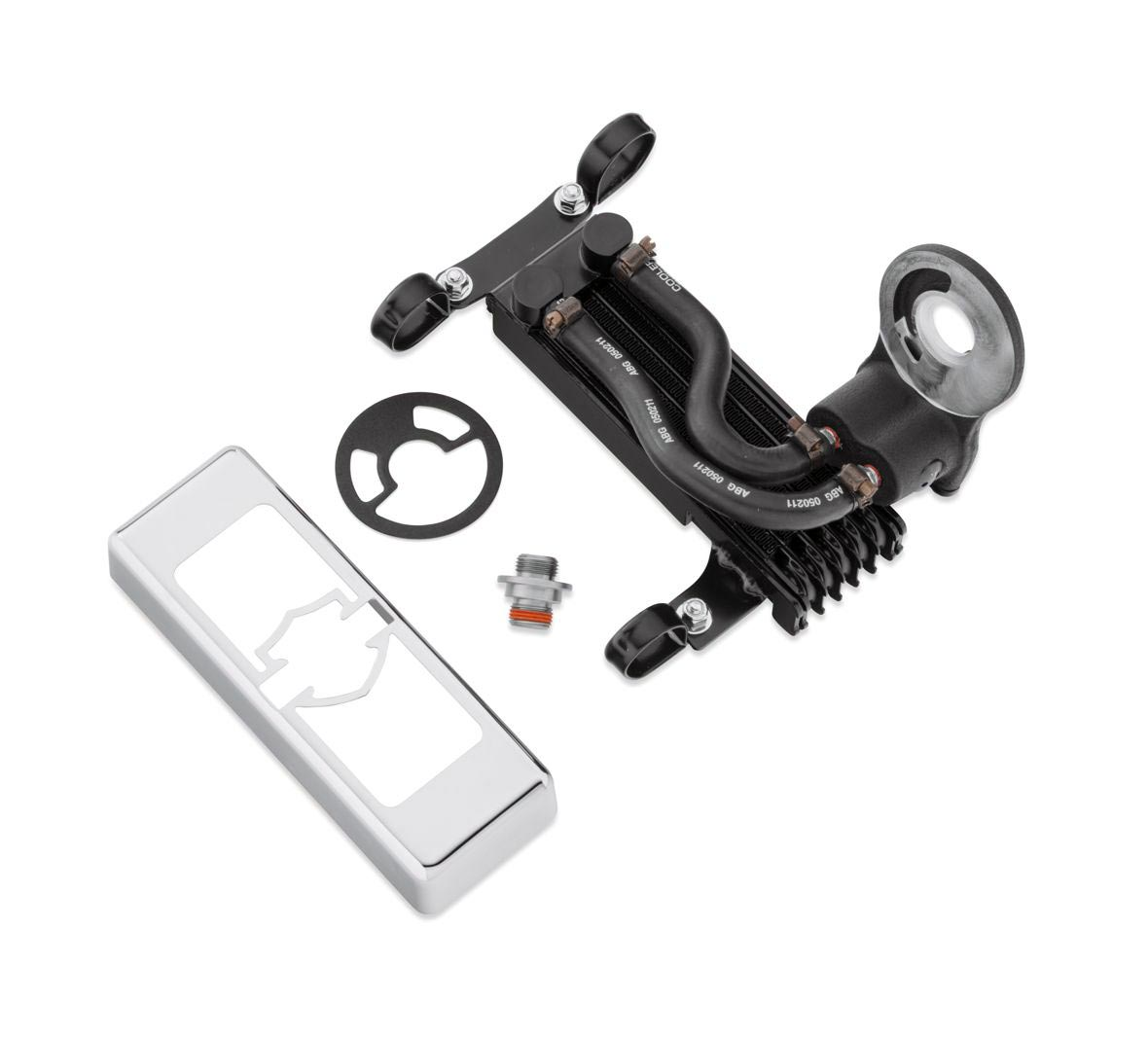 Harley Engine Cooler : A premium oil cooler kit for softail models at