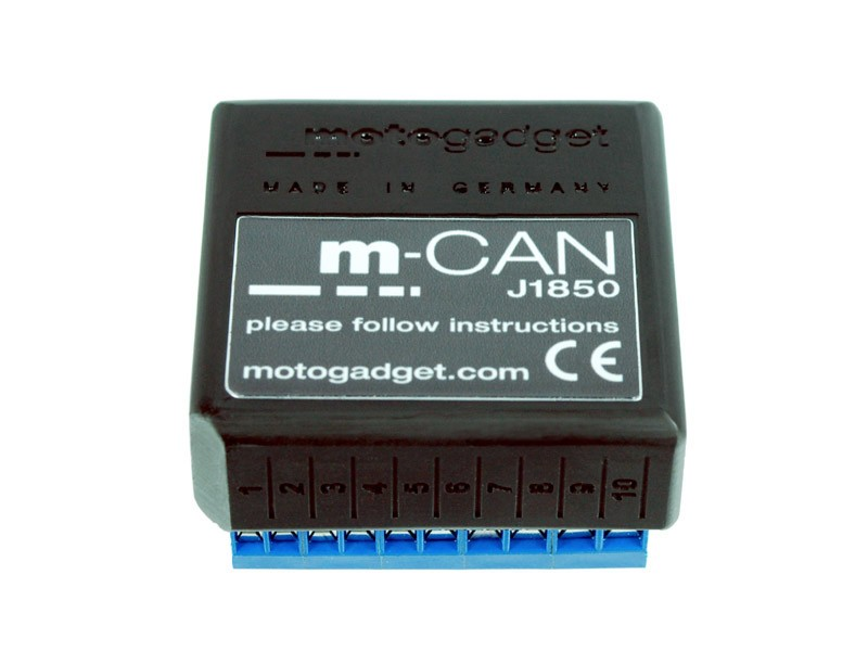 Motogadget m-CAN J1850 Signal Converter on