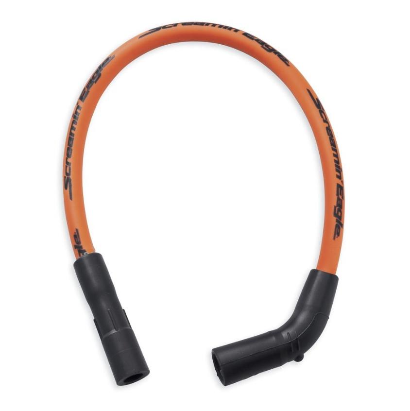 32360-00C Screamin\' Eagle 10mm Phat Spark Plug Wires - Orange at ...