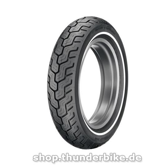 Dunlop Reifen - D402 MU85B16 Slim White Stripe
