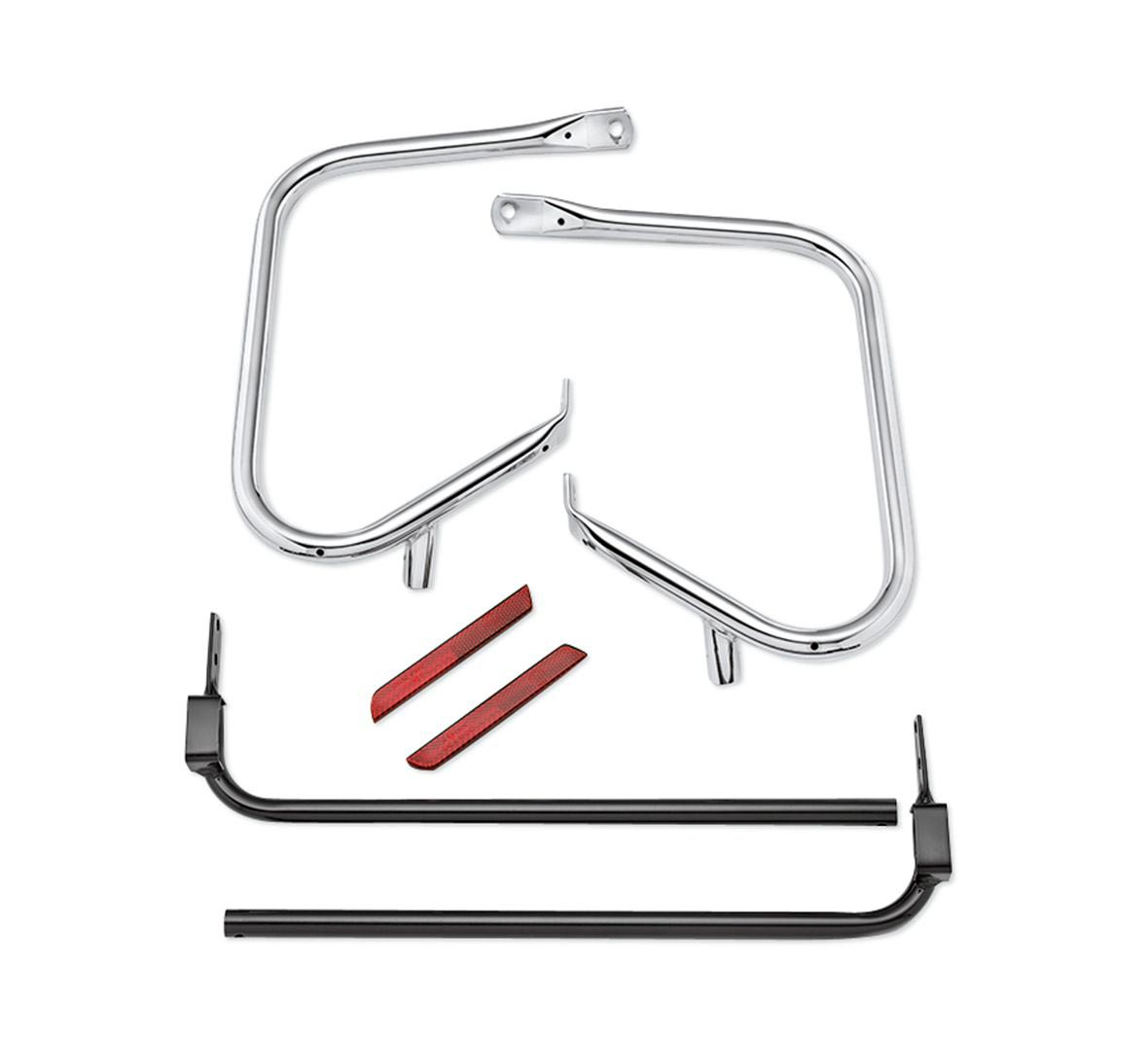 49282-09b rear saddlebag guard kit