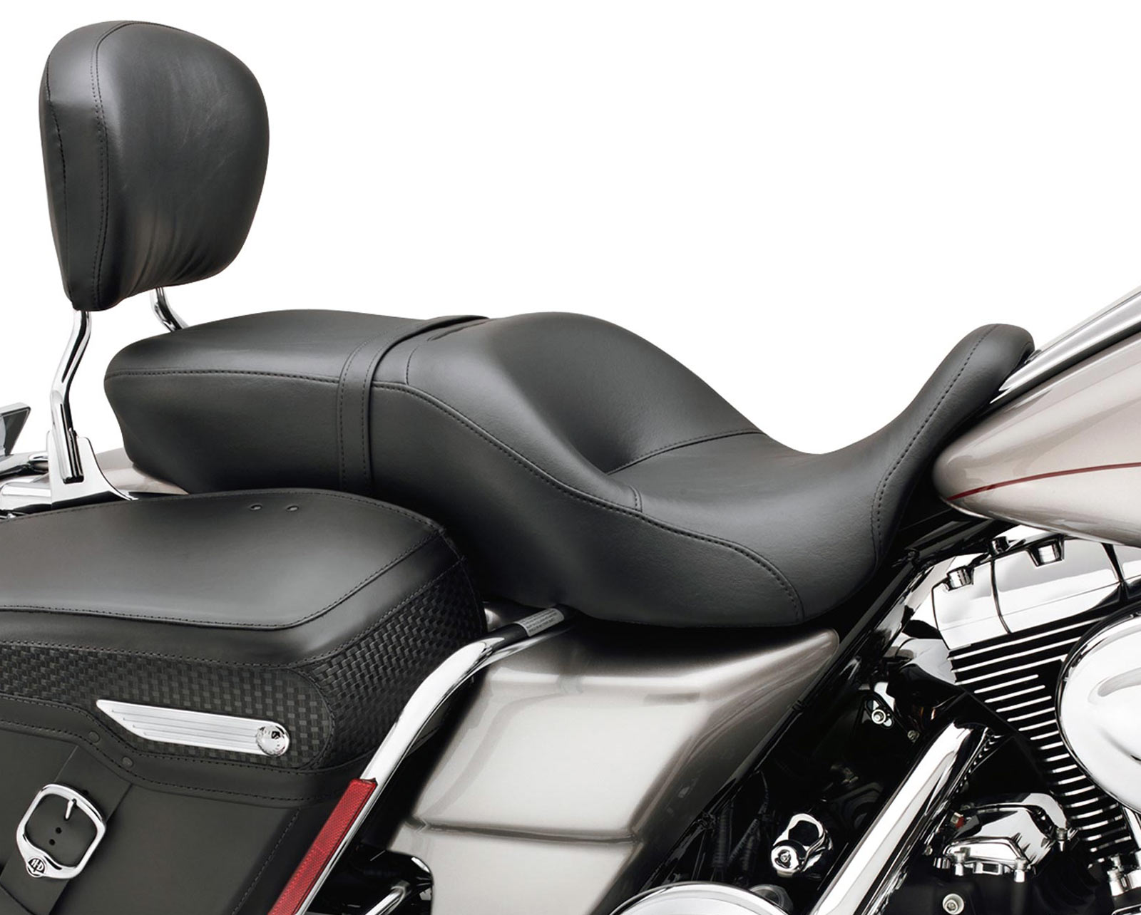 "Harley-Davidson Sundowner Deep Bucket Seat- Smooth 16"" - 51542-01B"