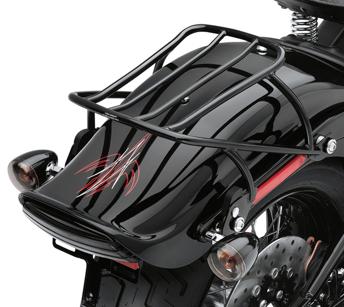 53612 08a Detachable Solo Rack Black At Thunderbike Shop