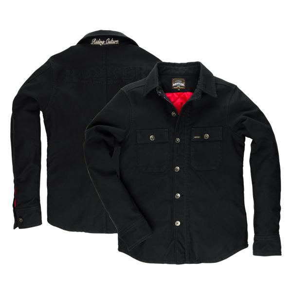 rokker black jack rider hemd warm im thunderbike shop. Black Bedroom Furniture Sets. Home Design Ideas