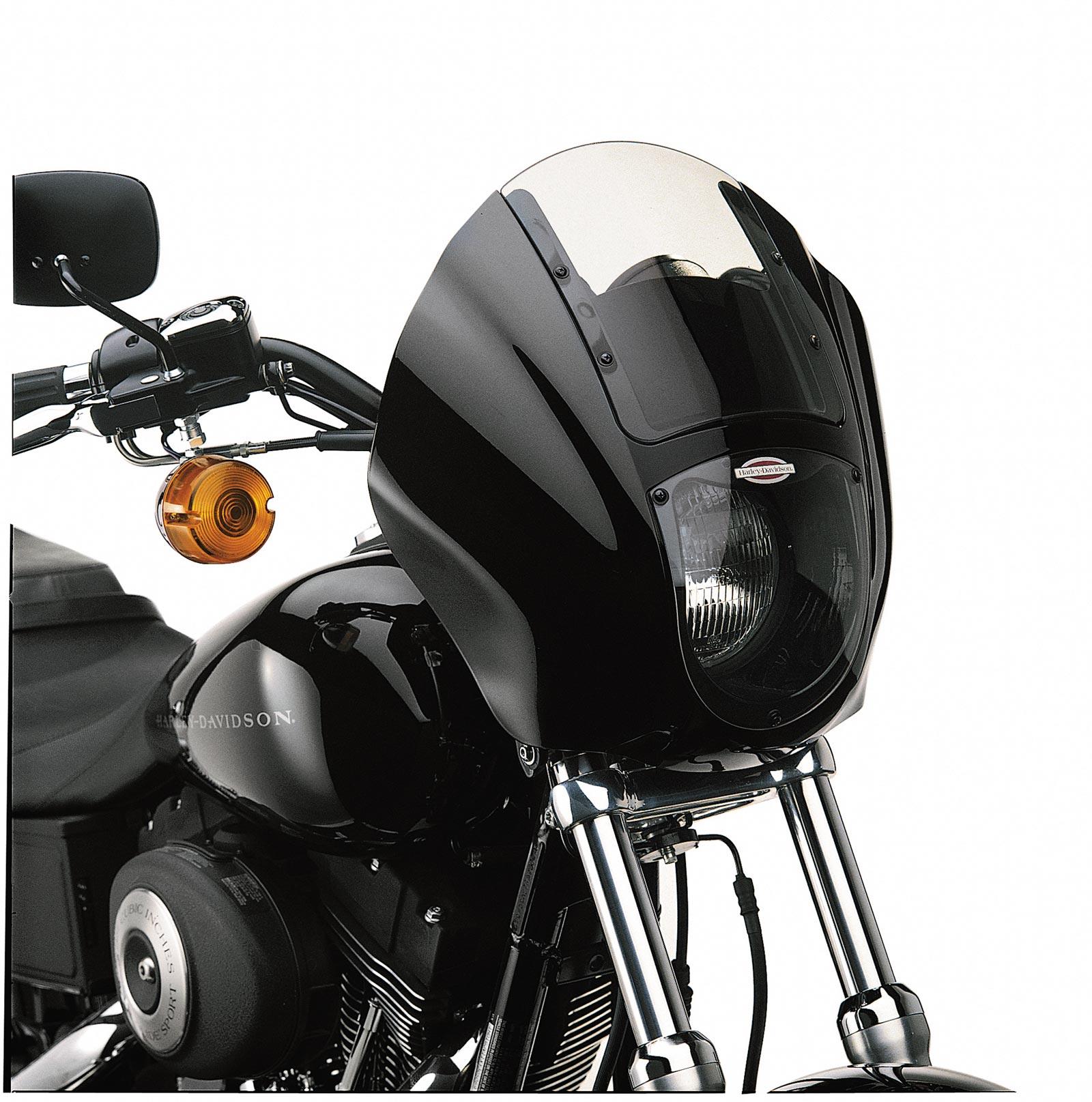 57070-97DH Detachable Quarter Fairing Kit Vivid Black at Thunderbike