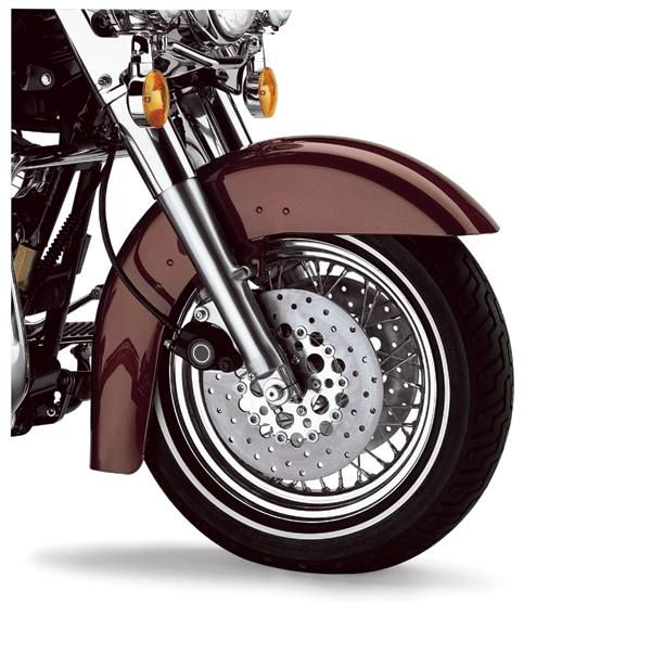 Harley Touring Fenders : B clean front fender primed at thunderbike shop