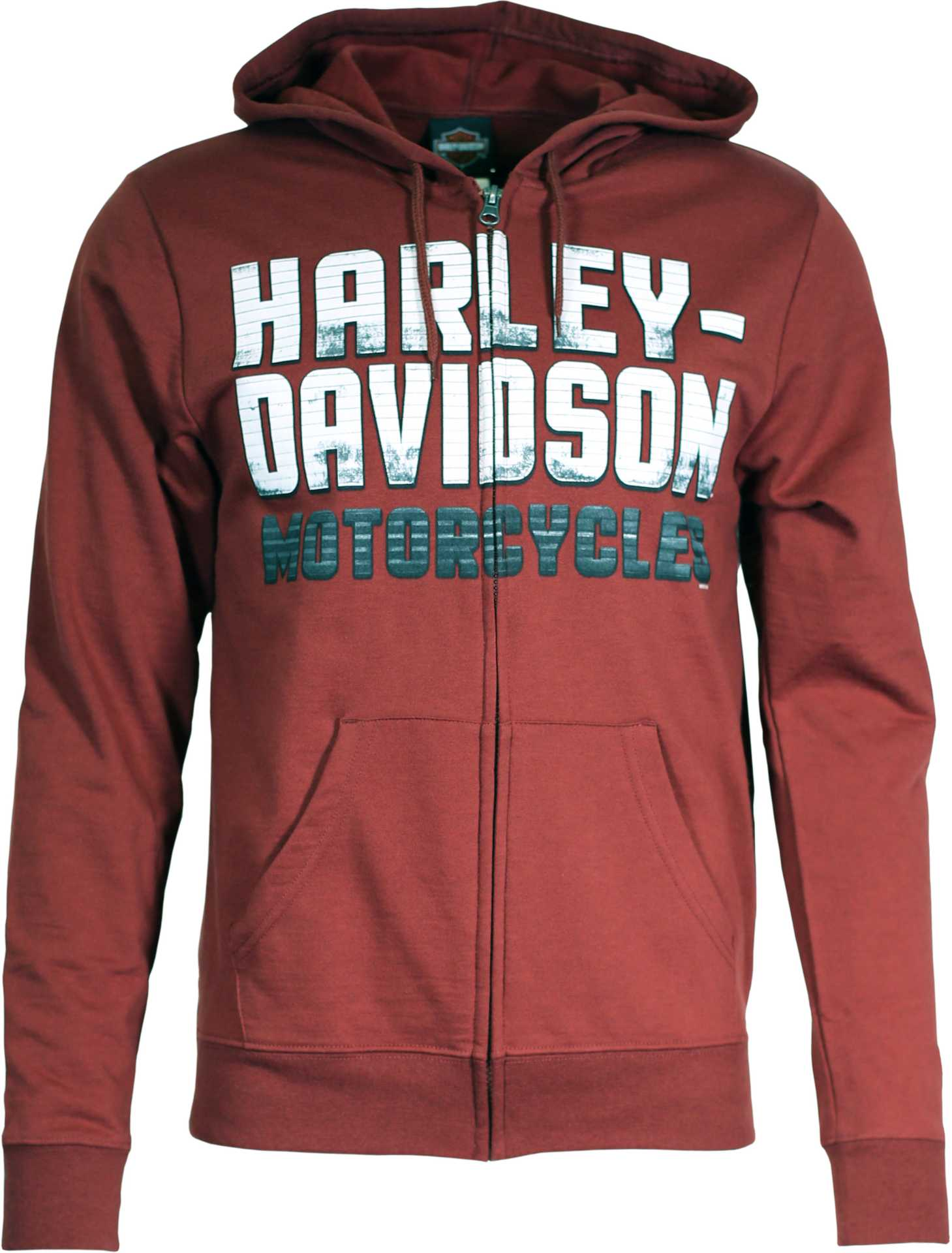 Harley-Davidson Zip Hoodie Roads Yet Traveled at ...