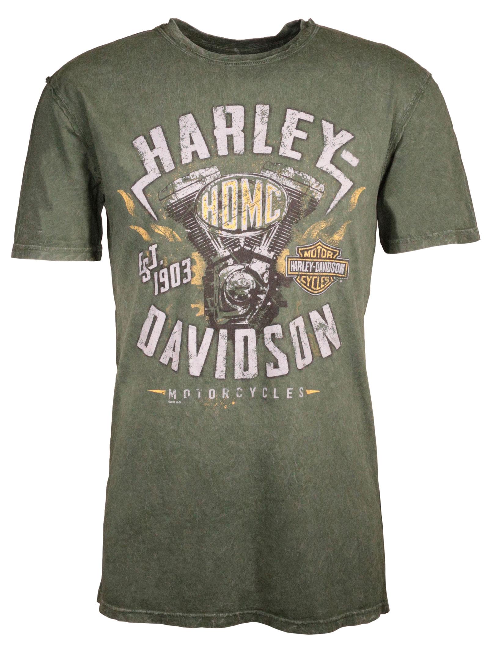 harley davidson t shirt street machine at thunderbike shop