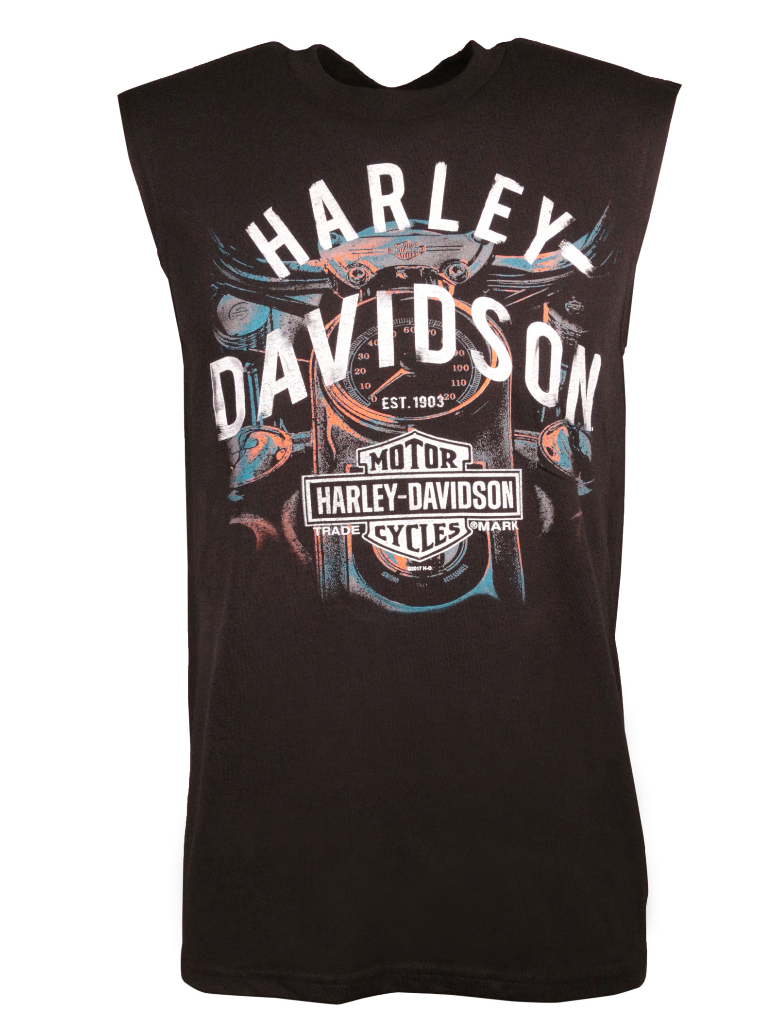 harley davidson muscle shirt mischef starter im. Black Bedroom Furniture Sets. Home Design Ideas