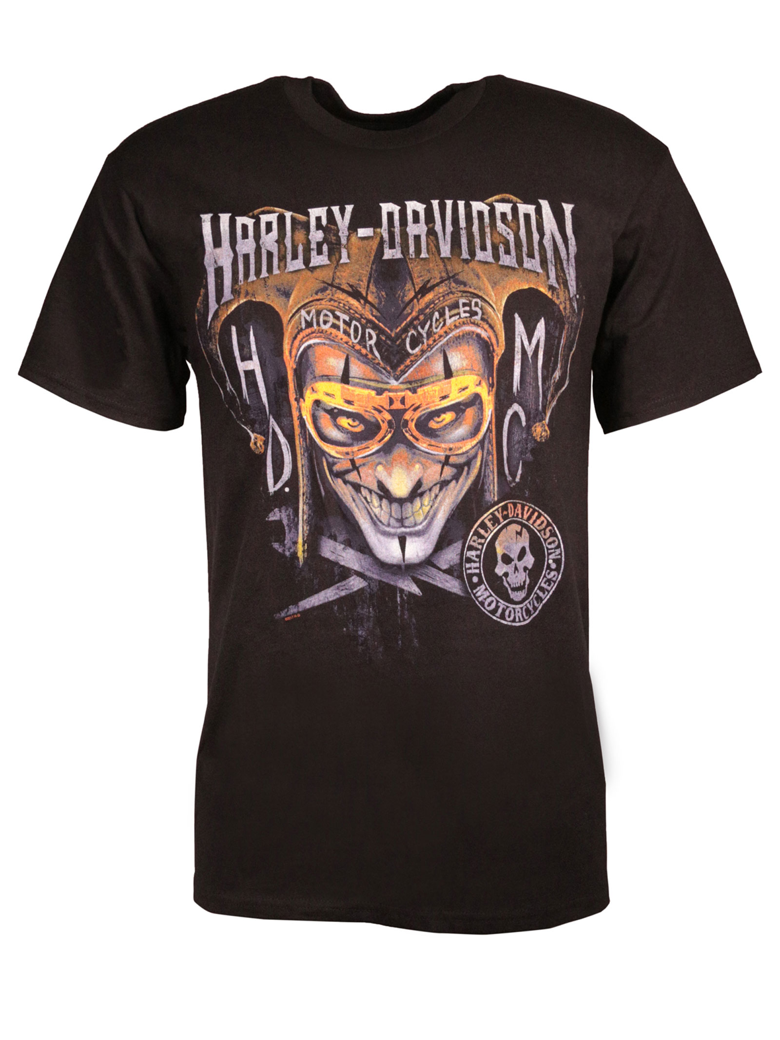 harley davidson t shirt clown around at thunderbike shop. Black Bedroom Furniture Sets. Home Design Ideas