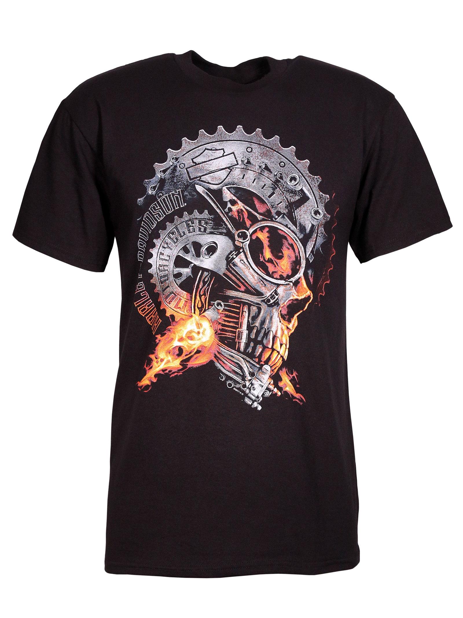 harley davidson t shirt alpha rider im thunderbike shop. Black Bedroom Furniture Sets. Home Design Ideas