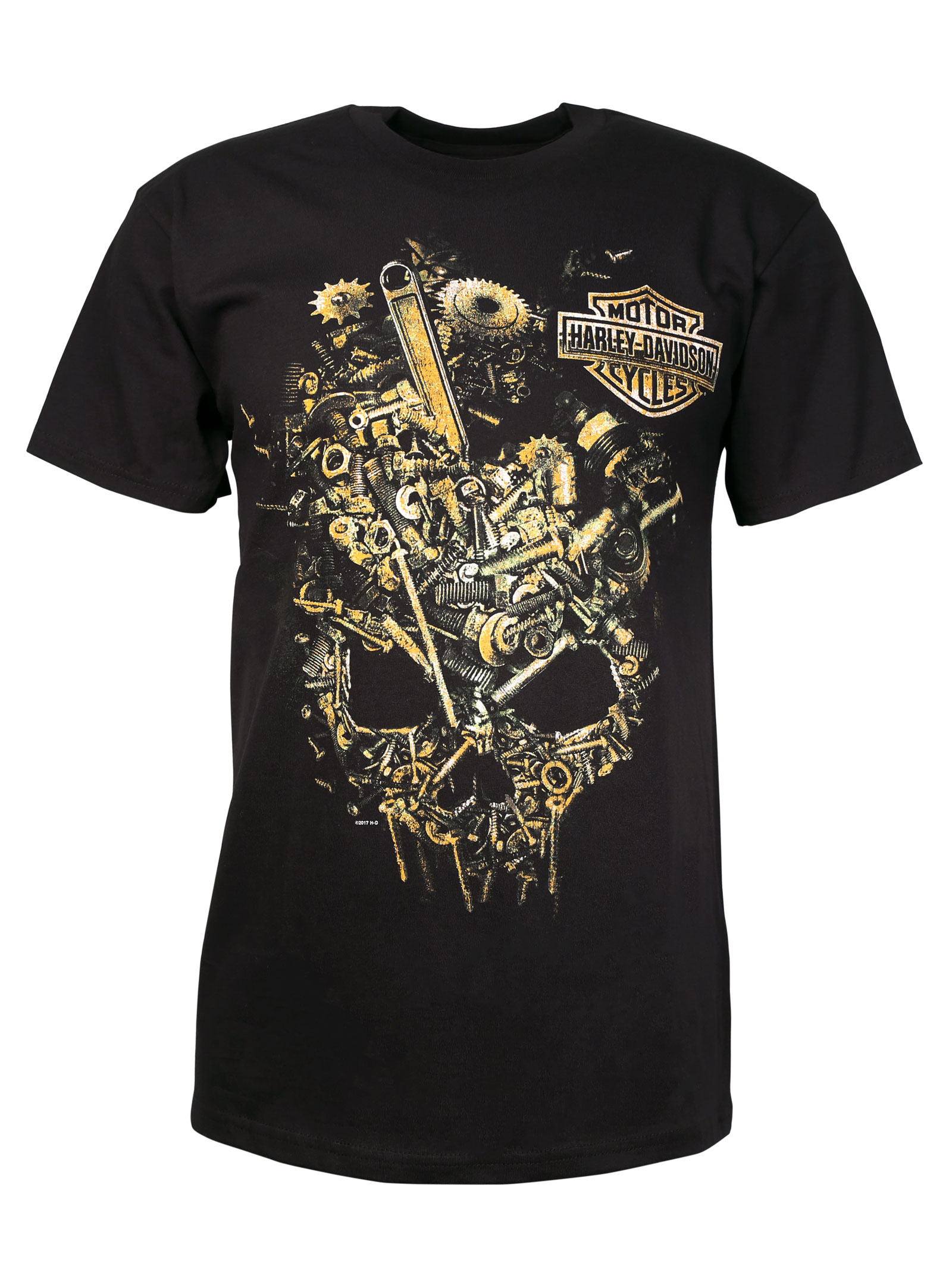 harley davidson t shirt following delirium at thunderbike shop. Black Bedroom Furniture Sets. Home Design Ideas