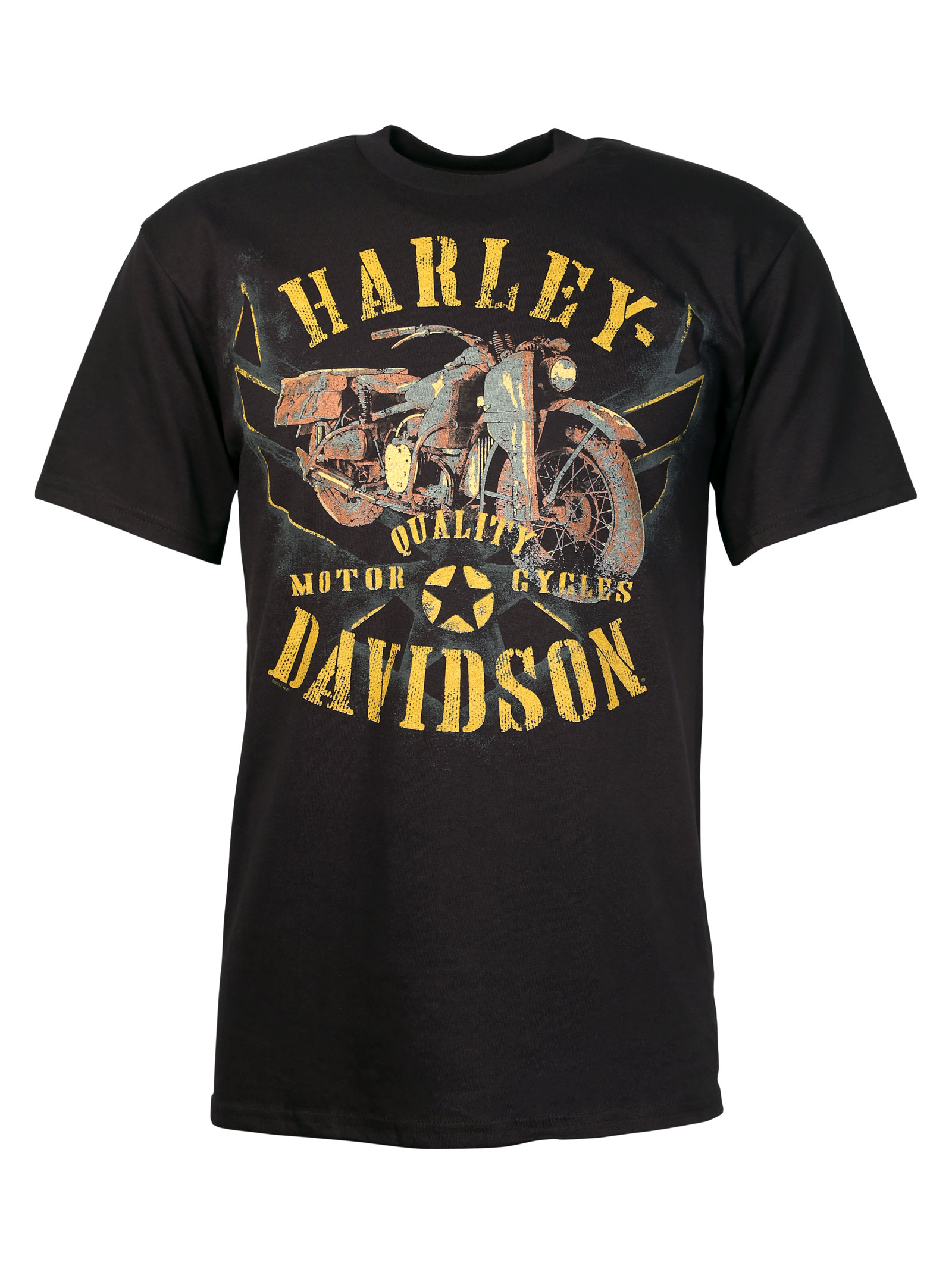 harley davidson t shirt unrested freedom at thunderbike shop. Black Bedroom Furniture Sets. Home Design Ideas