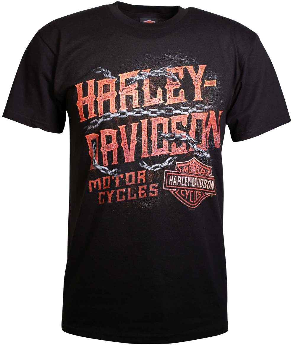 harley davidson t shirt metal of the lodge at thunderbike shop. Black Bedroom Furniture Sets. Home Design Ideas