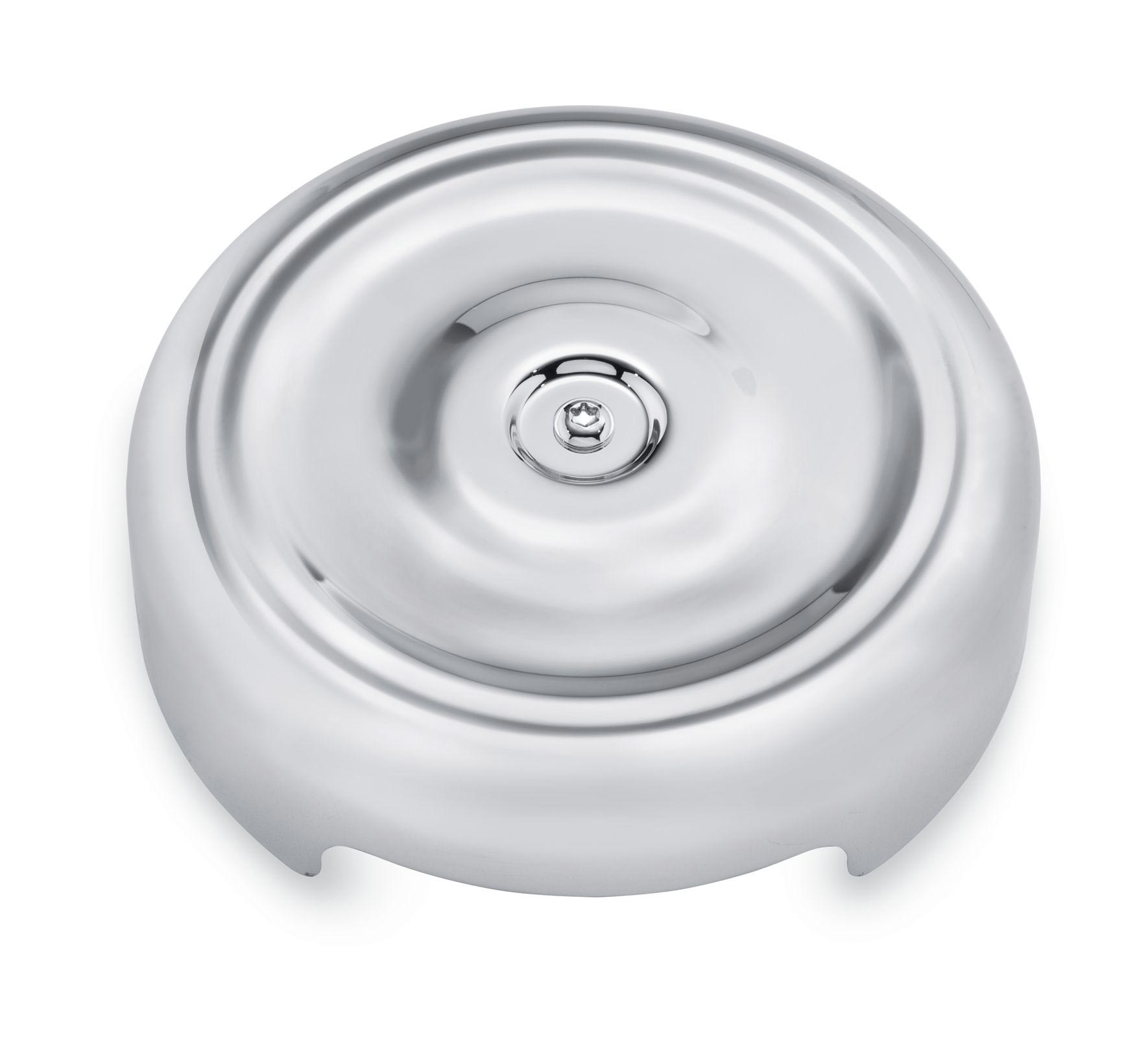 Air Cleaner Cap : Bobber style round air cleaner cover chrome at