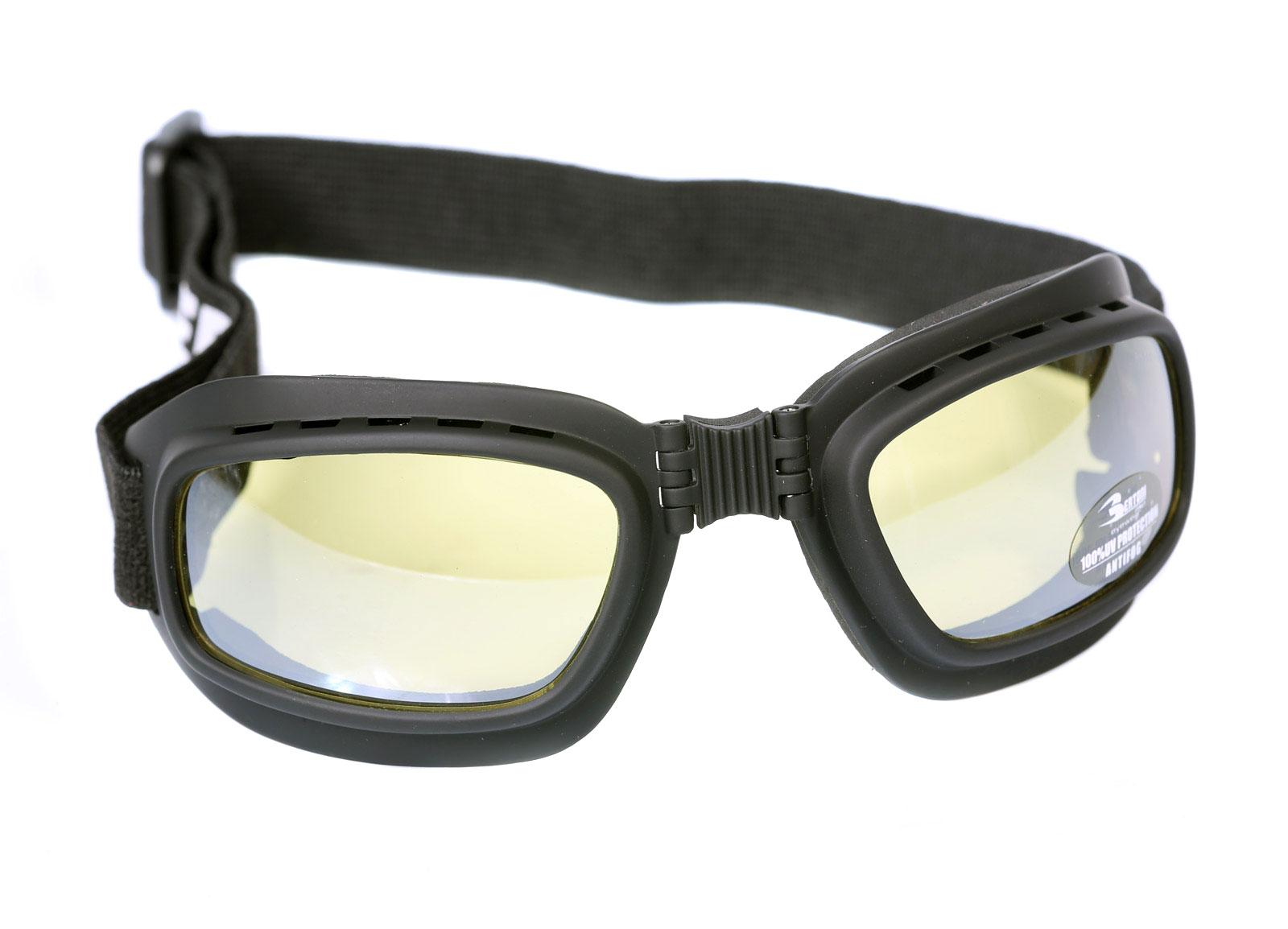 Bertoni AF112D Brille Schwarz/Gelb SOraGT - revkentfoster.com