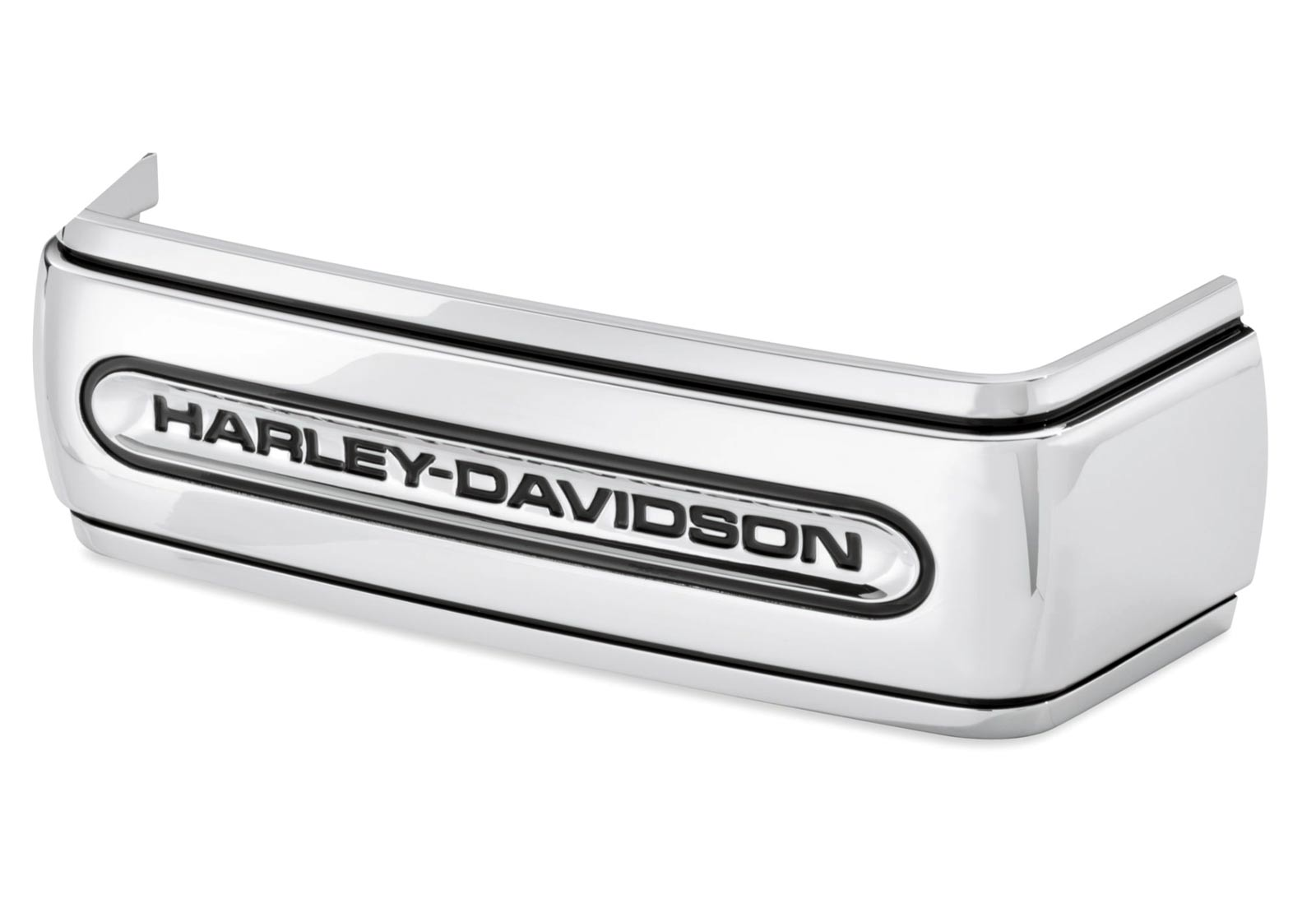 66443 06 battery cover band harley davidson script at thunderbike shop. Black Bedroom Furniture Sets. Home Design Ideas