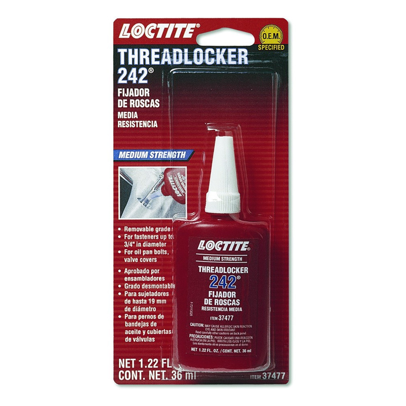loctite 242 schraubensicherung mittelfest 36 ml im thunderbike shop. Black Bedroom Furniture Sets. Home Design Ideas