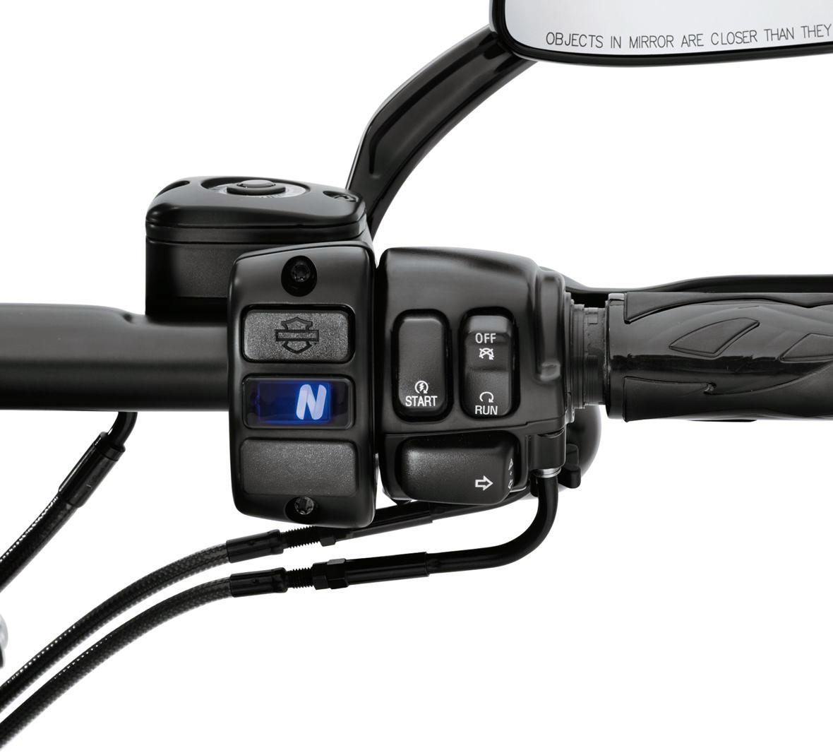 70900078 digital gear indicator black at thunderbike shop