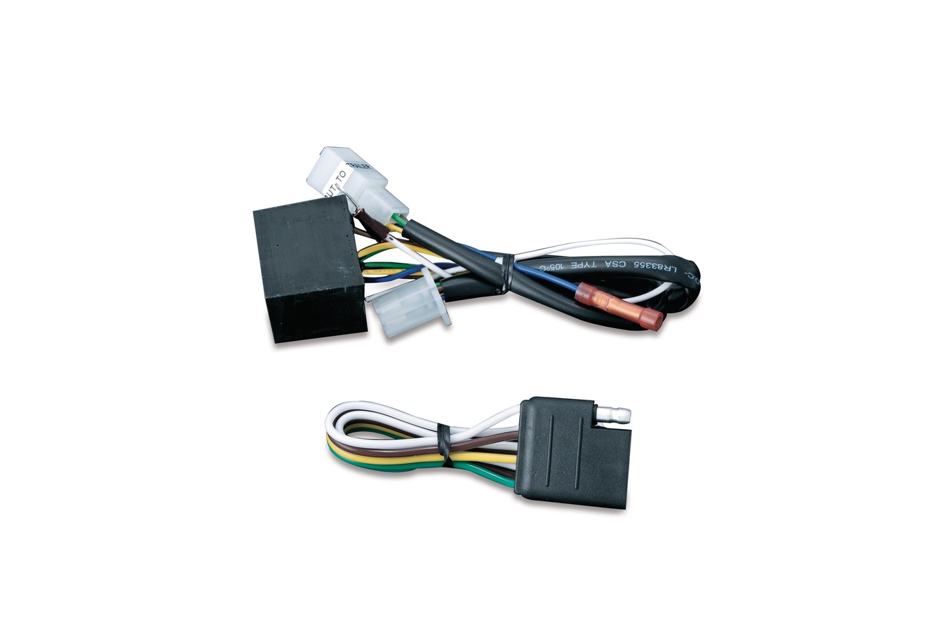Kryakyn 5 To 4 Wire Converter With Pin Flat At Thunderbike Shop Wiring Diagram 7 Blade Trailer Hitches 77 7675