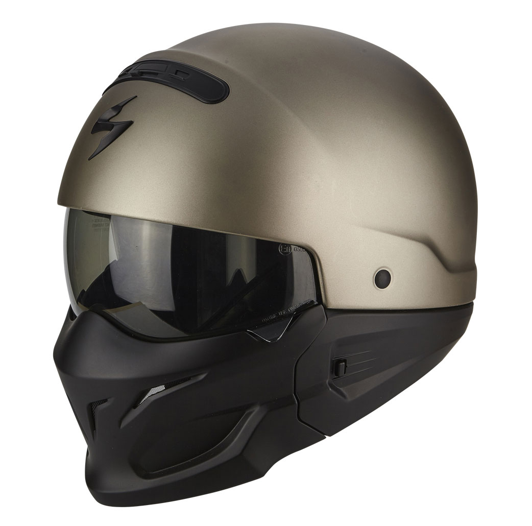 scorpion exo combat helm solid titan im thunderbike shop. Black Bedroom Furniture Sets. Home Design Ideas