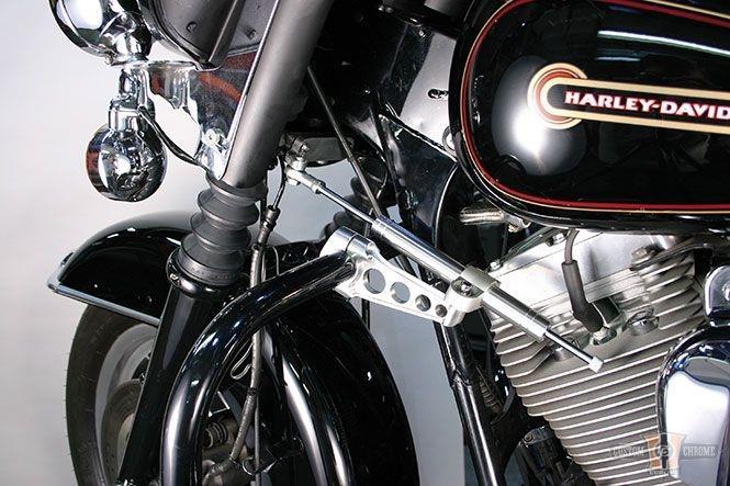 Custom Cycle Engineering Parallel Steering Damper