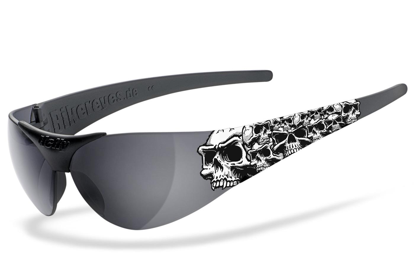 Helly Sonnenbrille Moab 4 - Triple Skull smoke / weiß kQ7XTWID