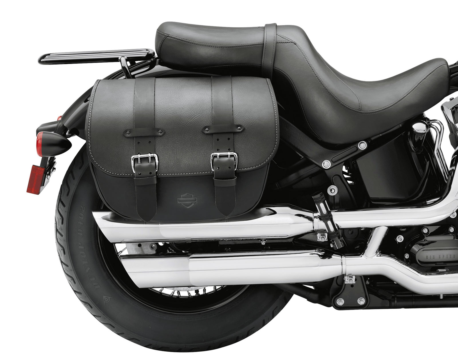 90200353B Detachable Leather Saddlebags at Thunderbike Shop