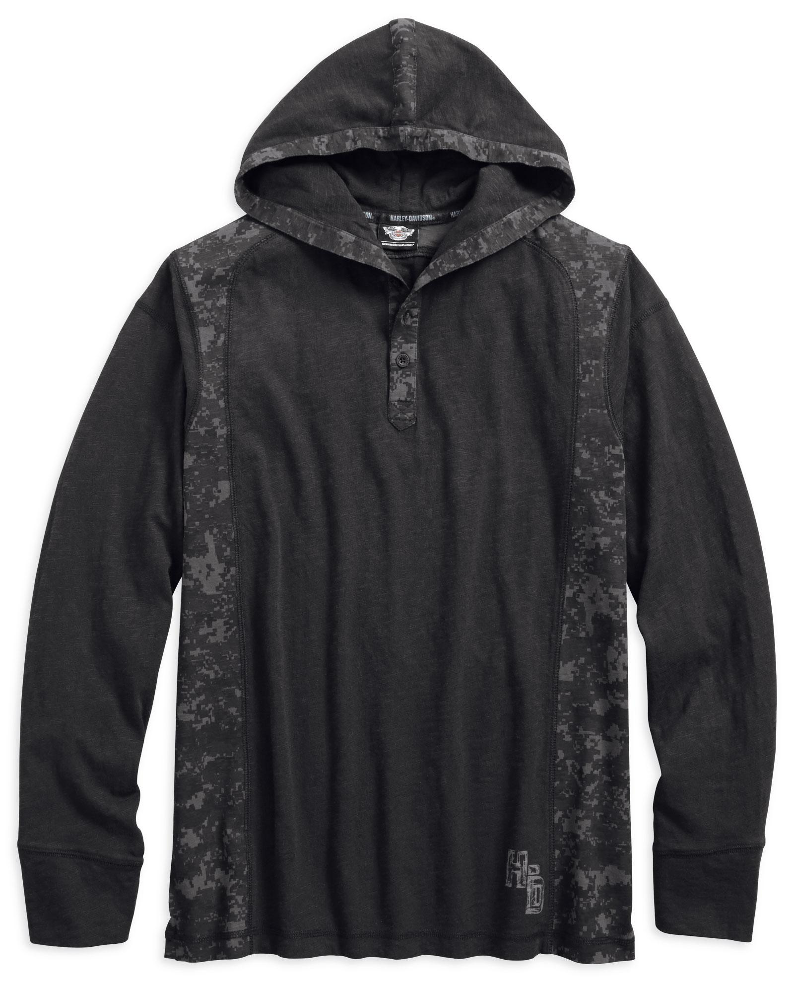 Digital camo hoodies